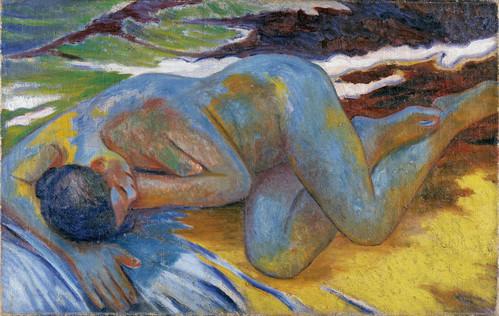 desnudo en azul (larionov)