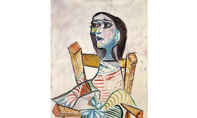 picasso retrato de mujer 1938
