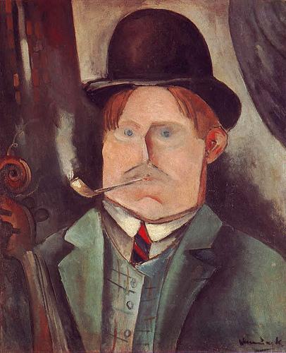 self-portrait vlaminck 1911